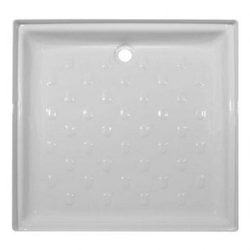 "Caravan/Motorhome PLASTIC SHOWER TRAY 30"" X 30"" WHITE"